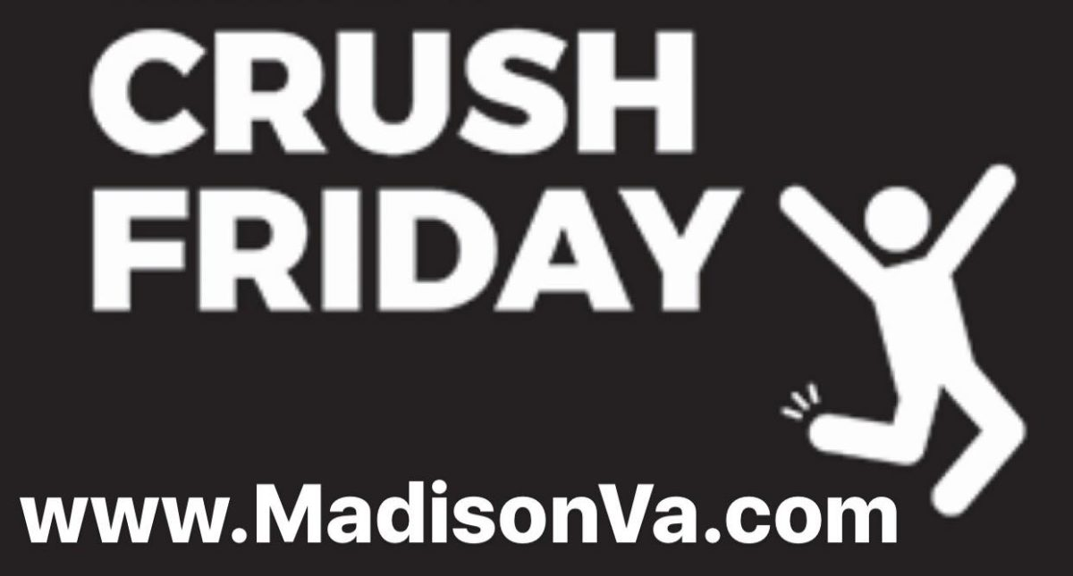 Crush Friday Kick-off Party!!